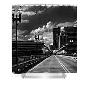 Gay Street Bridge - Knoxville Shower Curtain