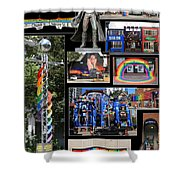 Gay Village 1 Shower Curtain