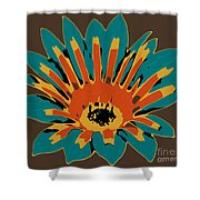 Gazania Shower Curtain