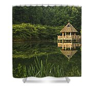 Gazebo Reflections Shower Curtain