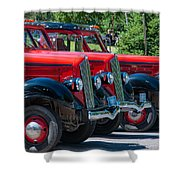 Gear Jammers Shower Curtain