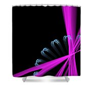 Gear Sticks Shower Curtain