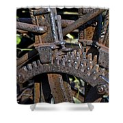 Gears Shower Curtain
