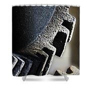 Gears Of A Grist Mill Shower Curtain