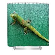 Gecko Crossing Shower Curtain