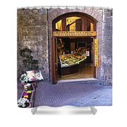 Gelateria Siena Shower Curtain