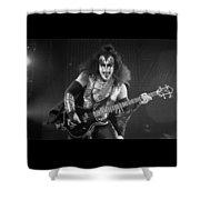 Gene Simmons Shower Curtain