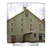 General And President Dwight D. Eisenhower Old Barn Shower Curtain