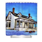 General Custer House Shower Curtain