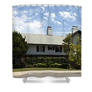General George S Patton Family Home Shower Curtain
