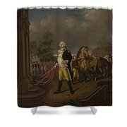 General Humphreys Delivering Shower Curtain
