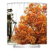 General In Fall Splendor Shower Curtain