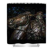 General Longstreet Shower Curtain