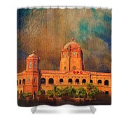 General Post Office Lahore Shower Curtain
