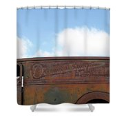 General Sherman Whiskey Shower Curtain
