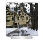 General Wayne Inn In Winter Shower Curtain