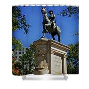General Winfield Scott Hancock Statue - Washington Dc Shower Curtain