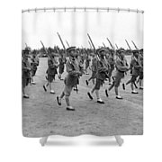 General Wu Pei-fu Troops Shower Curtain