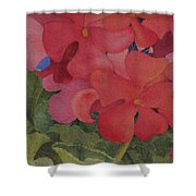 Generium Shower Curtain by Mary Ellen Mueller Legault