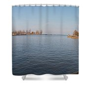 Genesee Basin Shower Curtain