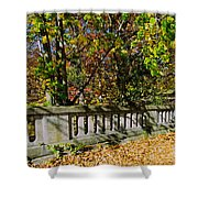 Genesee Valley Park Shower Curtain