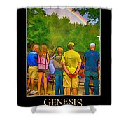 Genesis 9 Shower Curtain