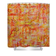 Genesis Chapter One Verse One Shower Curtain