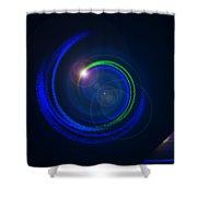 Genesis Digital Art Shower Curtain