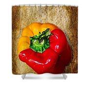 Genetically Modified Capsicum Shower Curtain