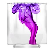 Genie Smoke Photography Shower Curtain