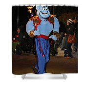 Genie With Moves Shower Curtain