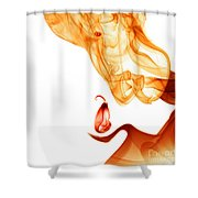 Gentle Giant Smoke Photography Shower Curtain