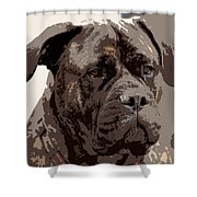 Gentle Gina  Shower Curtain