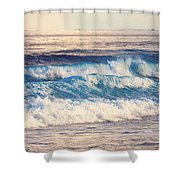Gentle Light  Shower Curtain by Jenny Rainbow