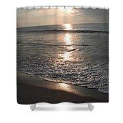 Ocean - Gentle Morning Waves Shower Curtain