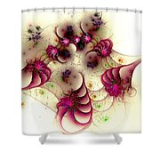 Gentle Pink Shower Curtain