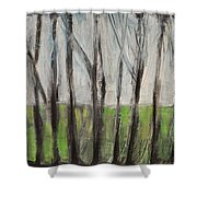 Gentle Rain Shower Curtain