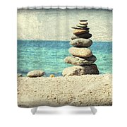 Gentle Sea Breeze Shower Curtain