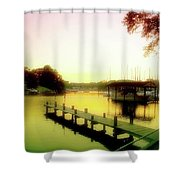 Gentle Whispers Shower Curtain