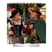Gentleman And His Lady Shower Curtain