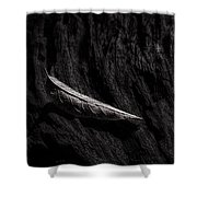 Gently Resting Shower Curtain