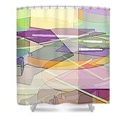 Geo-art Shower Curtain
