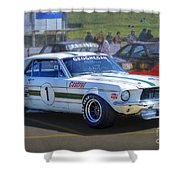 Geoghegan's Mustang Shower Curtain
