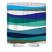 Geometric 16  Shower Curtain