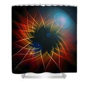 Geometric 7  Shower Curtain by Mark Ashkenazi