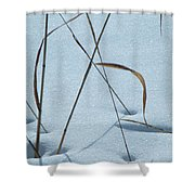 Geometry Grass Shower Curtain