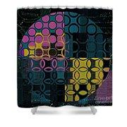 Geomix 14 - J049173176b2t Shower Curtain
