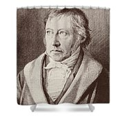 Georg Hegel  Shower Curtain