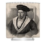 Georg Wilhelm Friedrich Hegel Shower Curtain