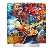 Wes Montgomery Shower Curtain